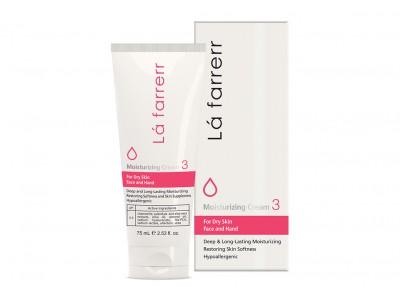 کرم مرطوب کننده و آبرسان مخصوص پوست های خشک لافارر