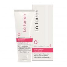 کرم مرطوب کننده و آبرسان مخصوص پوست های حساس لافارر
